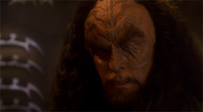 Martok and Worf do not always see eye to eye.