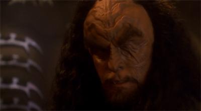 Martok and Worf do not always see eye to eye.