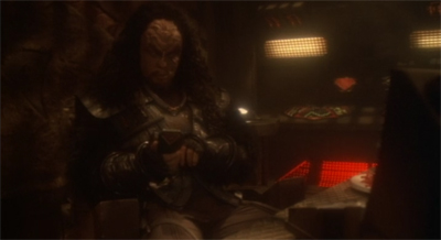 """Klingons make great conquerors, but lousy hosts."""
