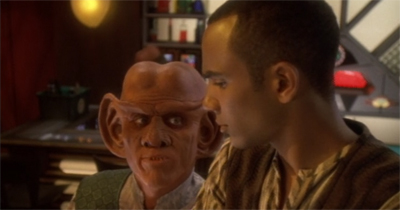 Jake and the Ferengi Man.