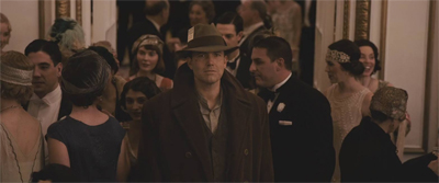 "Yes, Live by Night is so old-timey that Joe actually wears a piece of paper marked ""PRESS"" in his cap."
