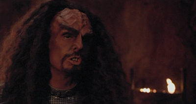 """Although flat-headed Klingons observe different ritual holidays. We're trying to build a ridge between us."""