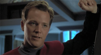 """You know, B'Elanna, when I said I wanted to get freaky, reliving Threshold was not what I had in mind."""