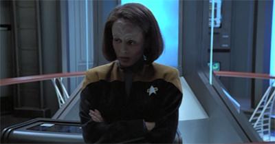 Klingon to her heritage.