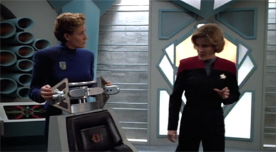 """""""I see you borrowed your brainwashing chair from the Romulans."""""""