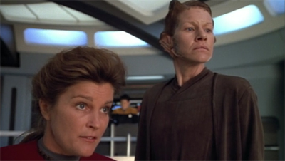 Any which Janeway but loose.