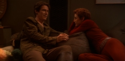 """Sorry, I'm not sure I feel comfortable having so personal a conversation outside a closet."""