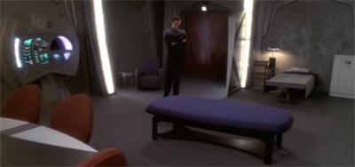 Keeping his sense of isolation at bay.