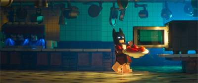 It takes a lot of work to make eating lobster seem pathetic, but The LEGO Batman Movie gets there.