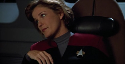 Janeway is having none of this.