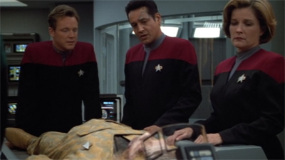 """Don't worry. We can just have reheated leftovers from B'Elanna's Day of Honour celebration."""