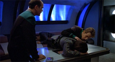 """What do you call two dead Romulans?"""