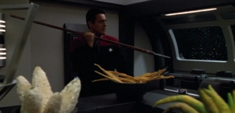 No, Chakotay. Hunters and Prey are next week.