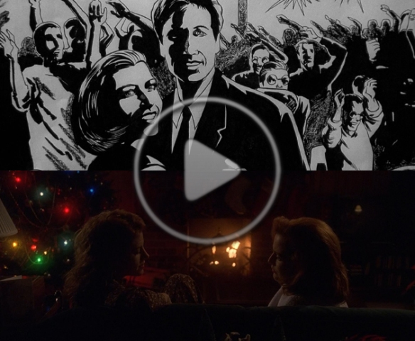 X Files Christmas Carol.New Podcast The X Cast X Files Podwatch Episode 52 The