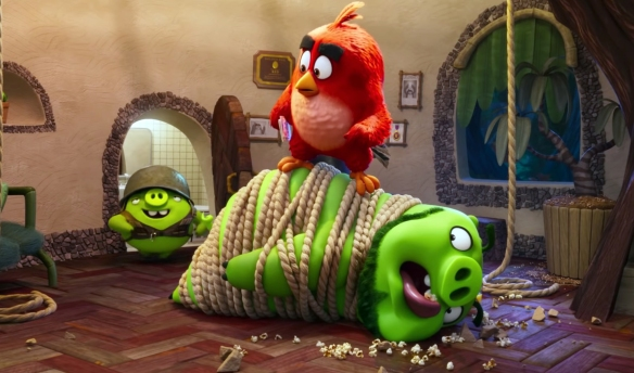 Non Review Review The Angry Birds Movie 2 The M0vie Blog